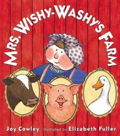 Uh-oh. Mrs. Wishy-Washy is at it again. Rubbing and scrubbing all the animals on the farm. But this time they aren't standing for it. Duck, Cow, and Pig are leaving mean old Mrs. Wishy-Washy for good!