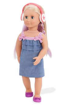 """My Life 18/"""" Doll Dance Studio Stage Fits American Girl And My Generation Dolls"""