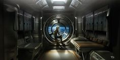 Gorgeous 'Ender's Game' Concept Art Shows a Futuristic World Ender's Game, Spaceship Interior, Spaceship Design, Orson Scott Card, Sci Fi Environment, Game Concept Art, Epic Art, Biomes, Sci Fi Movies