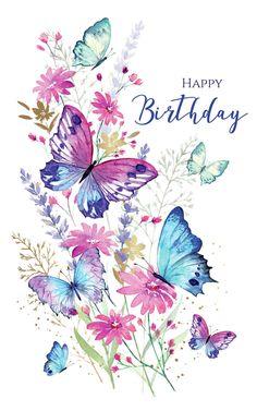 Di Brookes | Advocate Art Happy Birthday Greetings Friends, Happy Birthday Wishes Photos, Happy Birthday Wishes Cards, Happy Birthday Flower, Birthday Blessings, Birthday Wishes Quotes, Sister Birthday, Happy Birthdays, Happy Birthday Friend