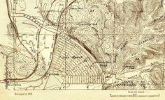 1932 map of Times Beach, Missouri.