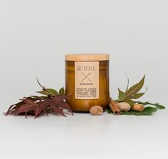 Hostess Gifts: wildfolk woodlands handmade soy candle