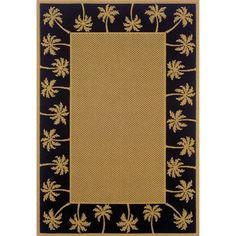 Threadbind Devon Beige/Black Indoor/Outdoor Area Rug Rug Size: