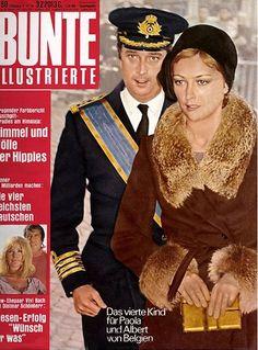 1970: Albert und Paola von Belgien