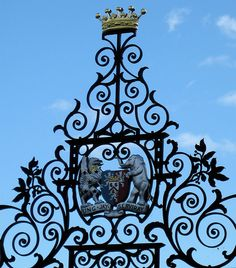 Gate, Powis Castle by wonky knee, Marian Byrne, via Flickr