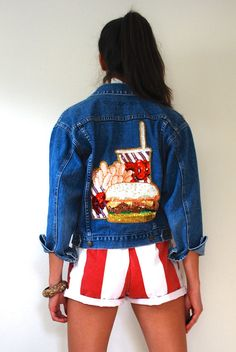 SPRING SALE 30% off Vintage 80s 90s Burger and by littlelightVTG