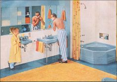 1955 American Standard Bath by American Vintage Home, via Flickr