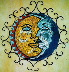Sun and Moon Mosaic
