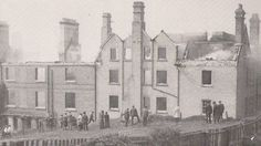 Suffragettes Evaline Burkitt and Florence Tunks were convicted of arson after setting fire to the Bath Hotel in Felixstowe, Suffolk, on 28 April 1914.  The fire destroyed the hotel although an annexe survived to become part of the Bartlet Hospital.  The Bartlet Hospital was built on the Undercliff Road site between 1923 and 1926. It was closed in 2006 and is being converted into flats.