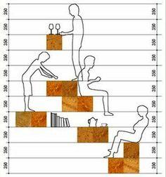 Esta é a forma como Sou Fujimoto fez o cálculo da colocação dos blocos.