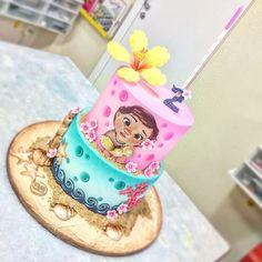 Moana Birthday Party Theme, Moana Themed Party, Girl 2nd Birthday, Frozen Birthday Party, 2nd Birthday Parties, Moana Party Supplies, Festa Moana Baby, Bolo Moana, Birthday Decorations