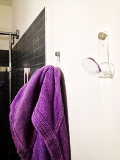 Bathroom hook #acrylic #plexiglass #designtrasparente
