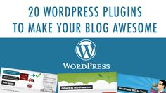 20 Free Plugins You Need to Improve Your Blog Today