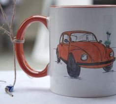Orange VosVos / Mug