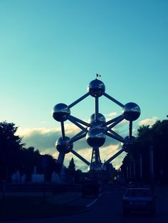 You could see the Atomium from my Auntie's house...  Brussels, Belgium