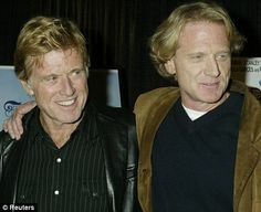 Robert Redford With His Family | ... ulcerative colitis almost killed Robert Redford¿s son | Mail Online
