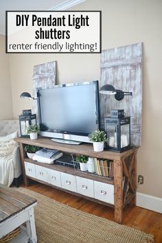 DIY Pendant Light Sh