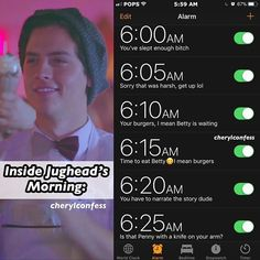 Jughead knows what he wants and he's gonna get it. Riverdale Funny, Riverdale Cw, Riverdale Memes, Riverdale Cole Sprouse, Serie Netflix, River Dale, Archie Comics, Alice Cooper, Betty Cooper