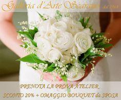 Continua la nostra promozione: Sconto del 20 % più Omaggio Bouquet da Sposa !!
