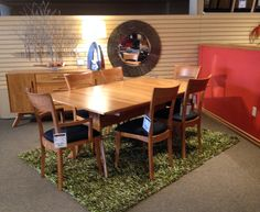 Valencia dining table and sanibel chairs now on floor at forma