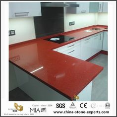 China DIY Wholesale Natural Discount Crystal Red Quartz Kitchen Countertops Manufacturers, Suppliers - Wholesale Price - Yeyang Stone Factory Quartz Kitchen Countertops, Granite Slab, Kitchen Cabinets, Artificial Marble, Artificial Stone, 24 Bathroom Vanity, New Chinese, Ceramic Sink, Crystals