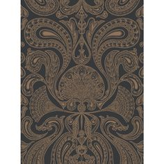 Buy Cole & Son Malabar Wallpaper, Bronze/Black, 95/7044 Online at johnlewis.com