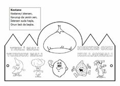 Yerli malı Malta, Coloring Pages, Preschool, Diagram, Black And White, Comics, Children, Handmade, Crafts