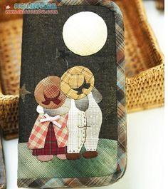 5ab00be8c95 108 μαγευτικές εικόνες με Knitting-Crochet-Stitch-Patchwork-Applique ...