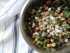 Za'atar Chickpea and Grain Salad