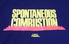 Vtg-Spontaneous-Combustion-Horror-Cult-Film-Movie-Promo-T-Shirt-Tobe-Hooper