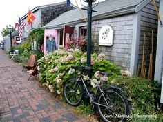 Nantucket Island - Straight Wharf cottage shops. A great place to wander and browse!