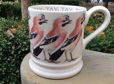 EMMA BRIDGEWATER Birds . Jay . 1/2 pint MUG