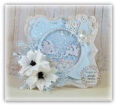 Magic Craft Land by Henryka: White Christmas***Białe Święta