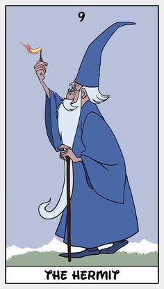 Disney Tarot Hermit - 9