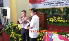 Kapolda Lampung Berharap Polda Lampung Naik Jadi Tipe A