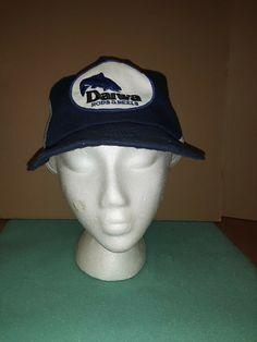 51fbfe305d9 Vintage Daiwa Snapback Fishing Hat Rare Trucker Mesh Patch  fashion   clothing  shoes