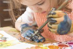 ¡Pintar con acuarelas! Fotogalería de  actividades en vacaciones- Todobebé