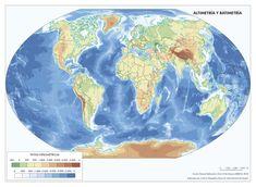 Imagen incluida en el subtema España en el contexto geográfico mundial: medio natural Diagram, World, Natural, Artwork, Maps, Illustrations, Work Of Art, Auguste Rodin Artwork, Artworks