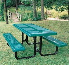 Webcoat T6PERFUP 6 ft. Table- No Seats and Large Hole 11 Gauge Punched Steel – Portable « zPatioFurniture.com