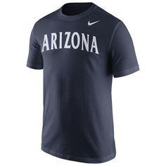 Arizona Wildcats Nike Wordmark T-Shirt - Navy