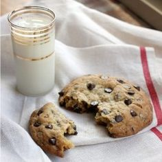 These easy chocolate chip cookies only require a few ingredients! No baking powder or baking soda required for these cookies!