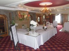 Weddings Abbey Hotel Donegal Wedding Brochure, Donegal, Our Wedding, Weddings, Table Decorations, Furniture, Home Decor, Decoration Home, Room Decor