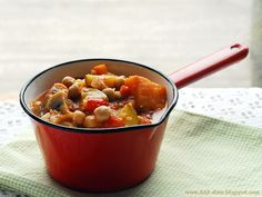 Roasted vegetables spring stew