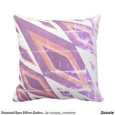 Diamond Eyes Pillow (Indoor/Outdoor)