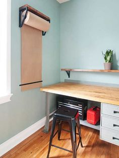 There are so many unexpected uses for shelf brackets! Add interest and functionality to every room in your home using these creative ideas.