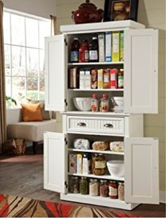 Food Storage Cabinet With Doors This Is Similar To What I Plan To Do With An Armoire I Picked Up At