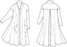 254 Swing Coat – Folkwear