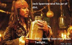 I've got a jar of dirt!