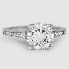 18K White Gold Lucia Diamond Ring