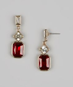 Dangly drop earrings - fancy but not fussy
